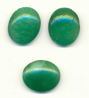 12x10mm Marbled Jade FB Ovals