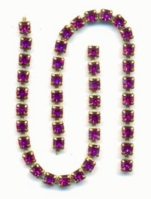 2mm Fuchsia RS Chain Parts