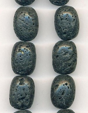 20x15mm Lava Rock Beads