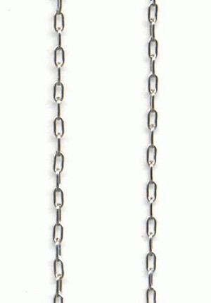 2x1mm Silver Cable Chain
