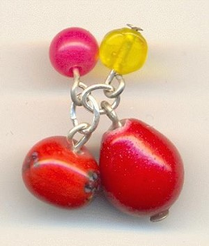 Red/Yellow/Pink Bead Clusters