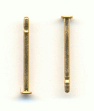 10mm Brass Earring Posts