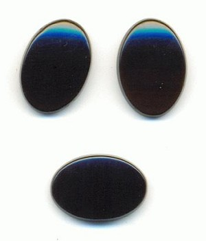 14x10mm Black Onyx Oval Stones