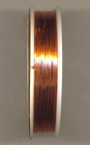 32ft 28-29 Gauge Red Brass/Copper Wire