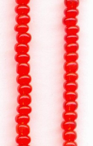 11/0 Light Siam Ruby Seed Beads