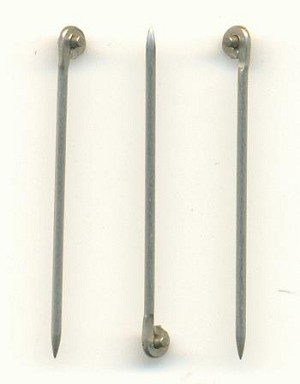 1 1/16'' 20G StainlessT-Pins For Brooches