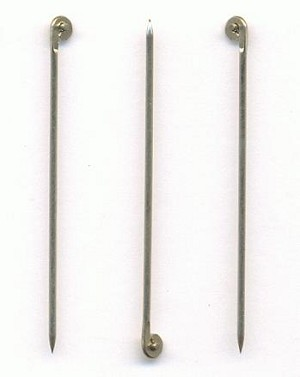 1 5/8'' 19G Stainless T-Pins For Brooches