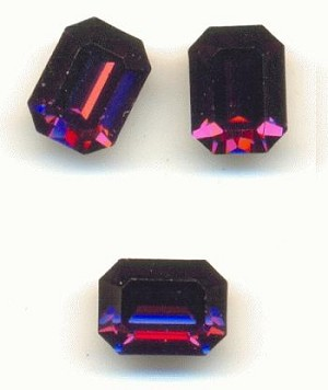 8x6mm Swarovski Amethyst Octagon RS