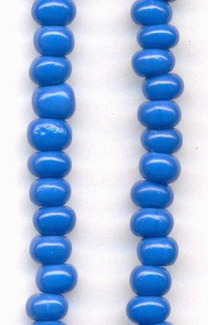 06/0 Blue Seed Beads