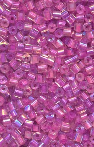 12/0 Pink/Lavender Luster Seed Beads