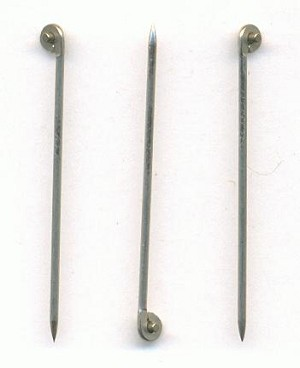 1 3/16'' 19G Stainless T-Pins For Brooche