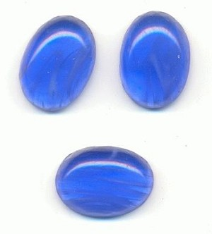 13x10mm Sapphire Flawed Oval