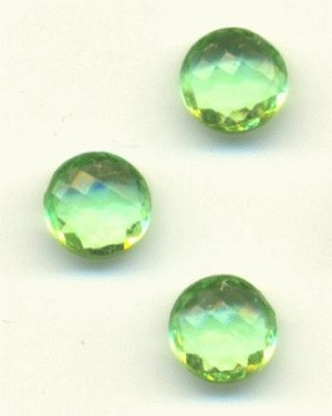 30ss Transparent Peridot Faceted RS
