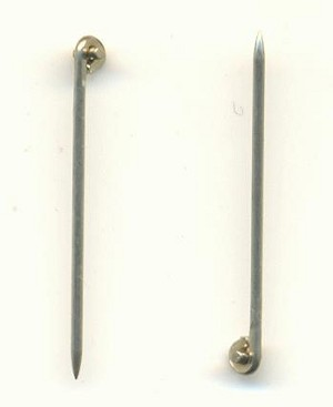 1 5/16'' 20G SP T-Pins For Brooches