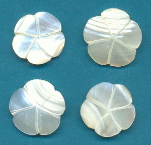 13-18mm Mother Of Pearl Flowers