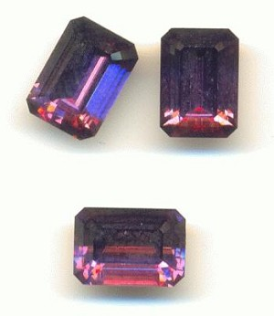 10x7mm Swarovski Amethyst Octagon RS