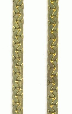 3mm Brass Swedged Chain