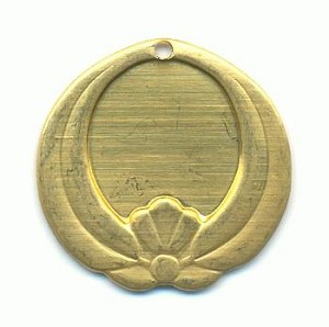 19mm Brass Pendant