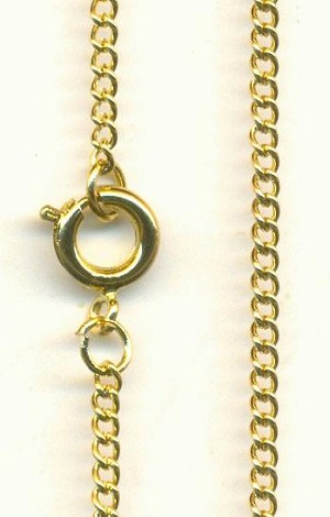 24'' GP Curb Chain Necklace