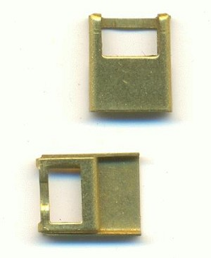 11x9mm Brass Solder-On Connector