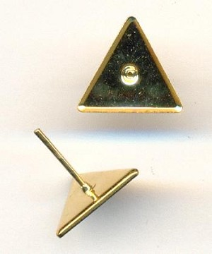 10mm Triangle Ear Posts