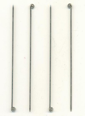 2 7/8'' 18 Gauge SP T-Pins For Brooches