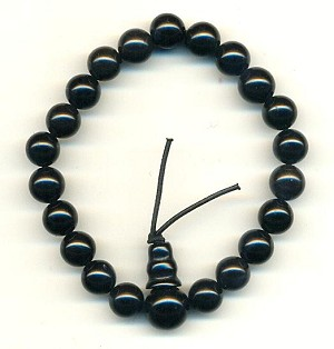 7'' Onyx Stretch Band Bracelet