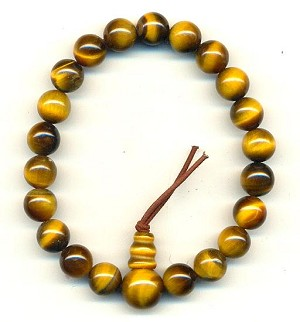 7'' Tiger's Eye Stretch Band Bracelet