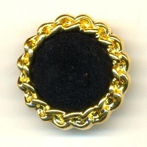 25mm gold black buttons with shank backs jan 39 s jewelry for Buttons with shanks for jewelry
