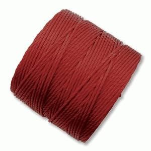 S-Lon Bead Cord - Dark Red