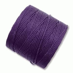 S-Lon Bead Cord - Purple