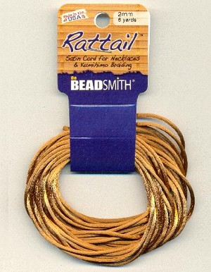 2mm Rattail Cord - Luggage