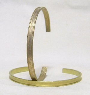3/16'' Channel Cuff with 3mm Channel