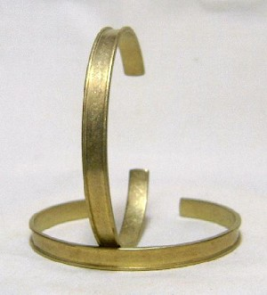 1/4'' Channel Cuff with 4.25mm Channel