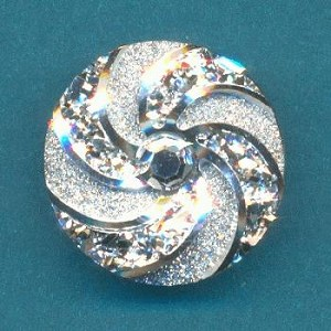 18mm Acrylic RS Glitter Snap