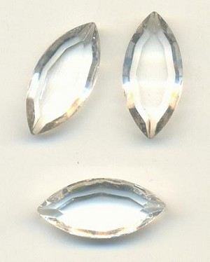 15x7mm TTC Swarovski Crystal/Clear Nav