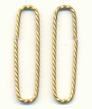 28/7mm Twisted Brass Wire Finding