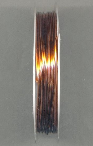 9.5 ft 20 Gauge Red Brass/Copper Wire