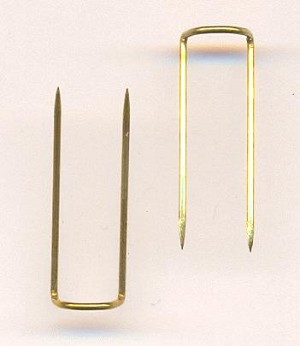 3/4'' Brass Display Pins