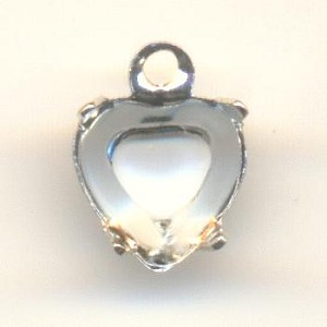 6mm SP OB 1R Heart Shaped Settings