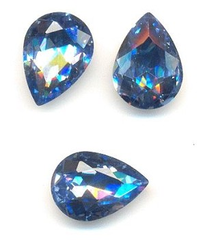 14x10mm Medium/LT Sapphire Pear RS