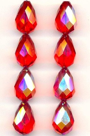 16.5x11mm Swarovski Hyacinth AB Beads