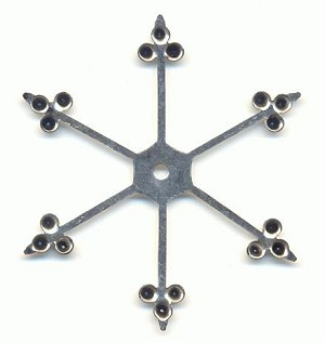 54.5mm AS Multi-Stone 6-Spoke Settings