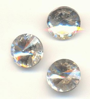 10mm Clear Crystal Rivoli Rhinestone