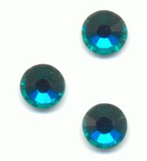 16ss Blue Zircon Flat Back RS