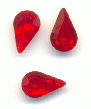 6x3.6mm Swarovski LT Siame Pear RS
