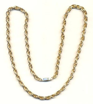 27'' GP Aluminum Finished Rope Chain