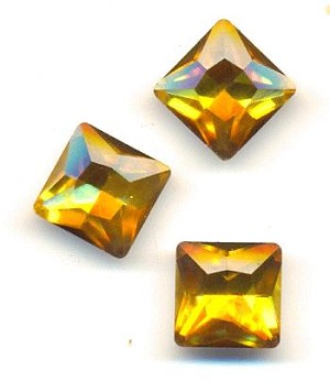 12mm Topaz Square RS