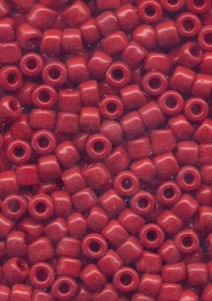 06/0 Brick Red Seed Beads