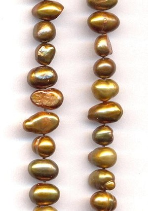 5-7mm Bronze Freshwater Pearls